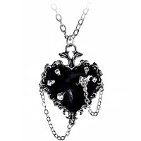 thumb-Witch's Heart Pendant-1