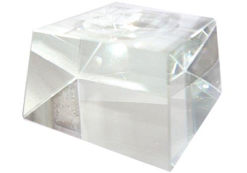Kugelhalter aus Glas