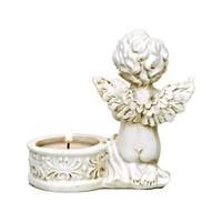 thumb-Zwei Engelchen mit Teelichthalter-3