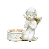 thumb-Zwei Engelchen mit Teelichthalter-4