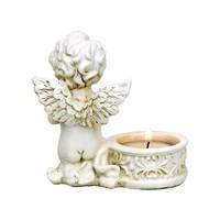 thumb-Zwei Engelchen mit Teelichthalter-5