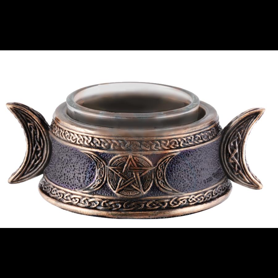 Teelichthalter Dreifache Göttin-1