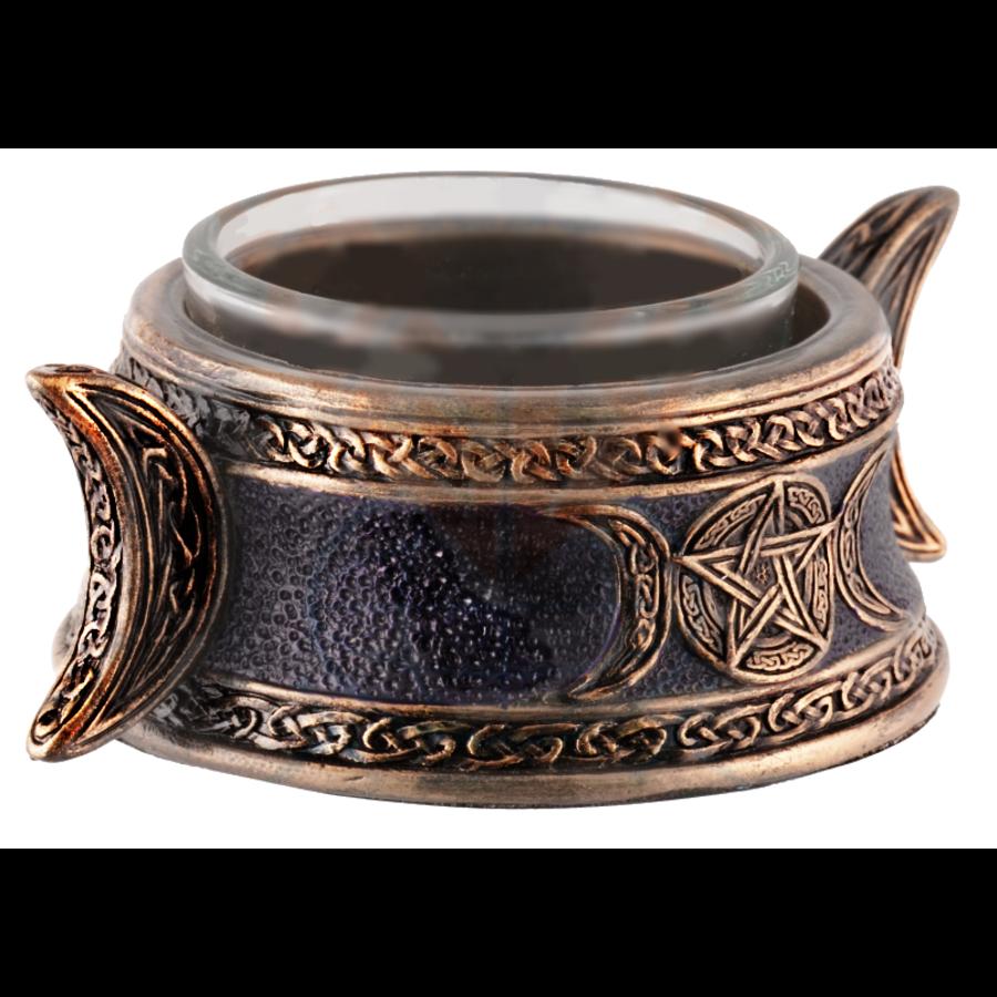 Teelichthalter Dreifache Göttin-2