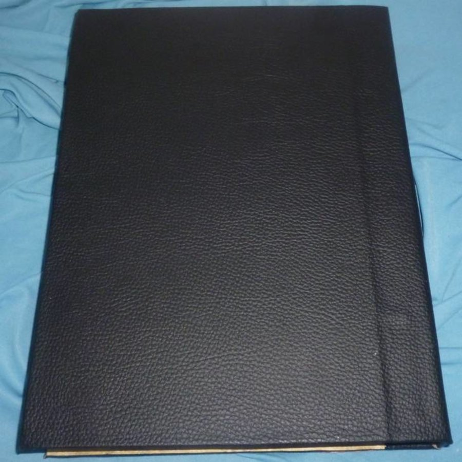 Buch der Schatten mit Kupferbeschlägen und Pentagramm-4