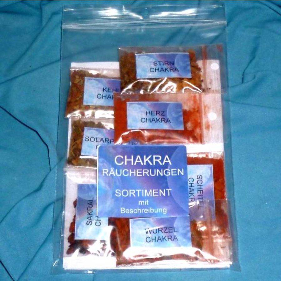 Chakra-Räucherungen Sortiment-3