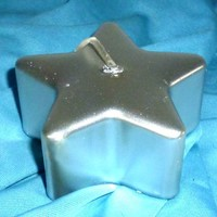 thumb-Sternkerze silber-2