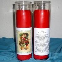 thumb-Julfest Jahreskreis Kerze im Glas-2