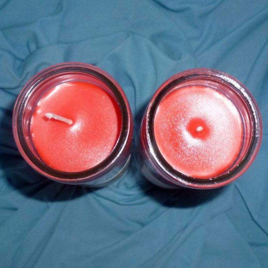 Julfest Jahreskreis Kerze im Glas-3