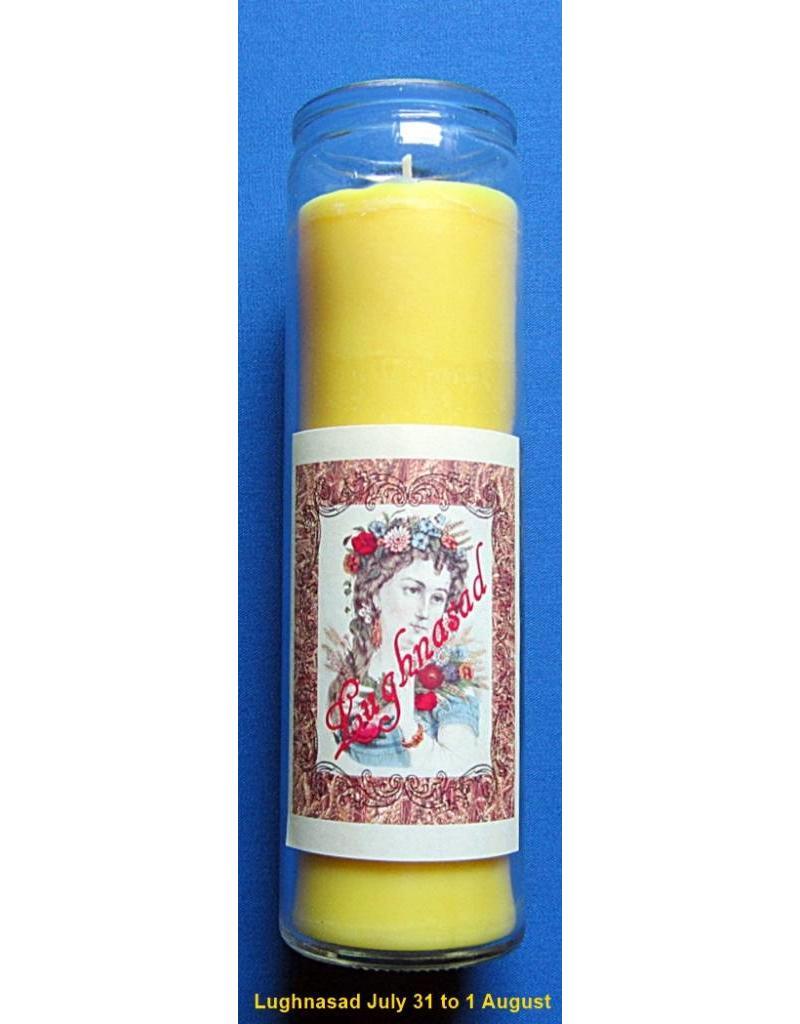 Sabbatte Lughnasad Jahreskreis Kerze im Glas