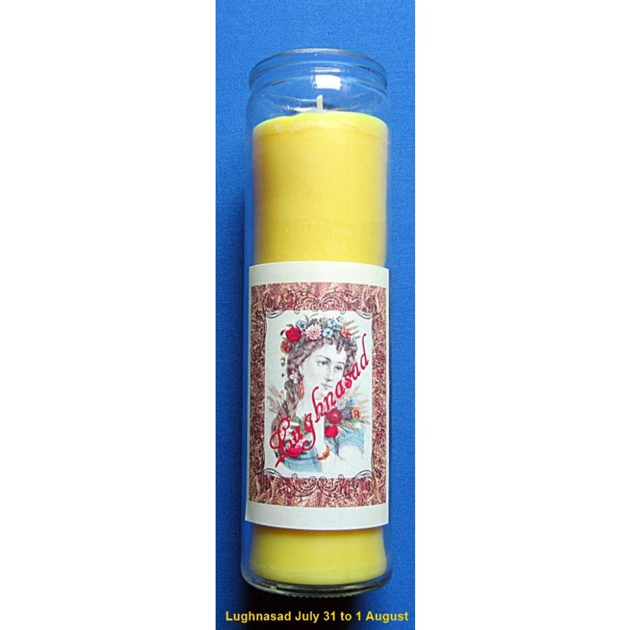 Lughnasad Jahreskreis Kerze im Glas-2