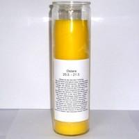 thumb-Ostara Jahreskreis Kerze im Glas-2