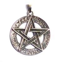 thumb-Pentagramm Anhänger, 925 Sterling Silber oder aus Bronze-4