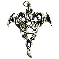 "thumb-Amulett ""Drako Pentagramm""-1"