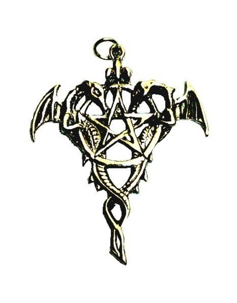 "Pentagramme Amulett ""Drako Pentagramm"""