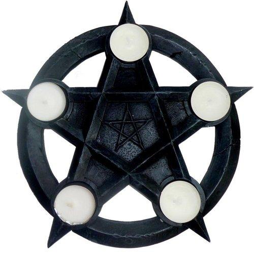Teelichter-Pentakel, Altarpentakel