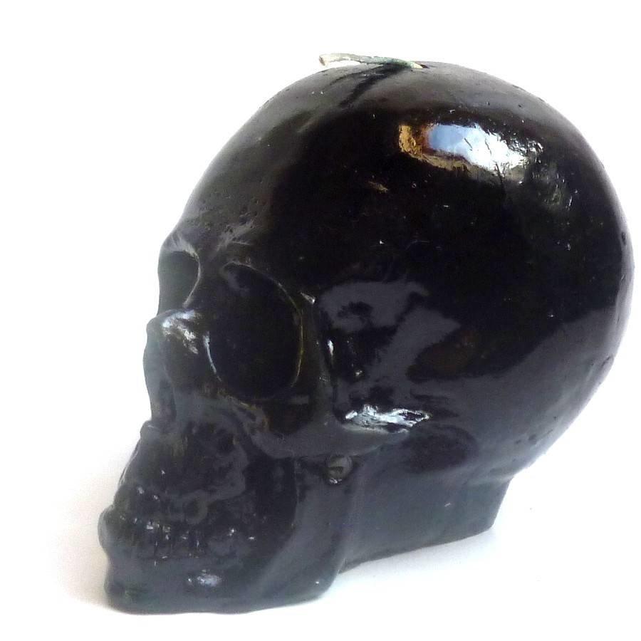 Totenkopf Kerze-4