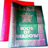 thumb-Buch der Schatten - Ordnereinband mit Rosen- Pentagramm-2