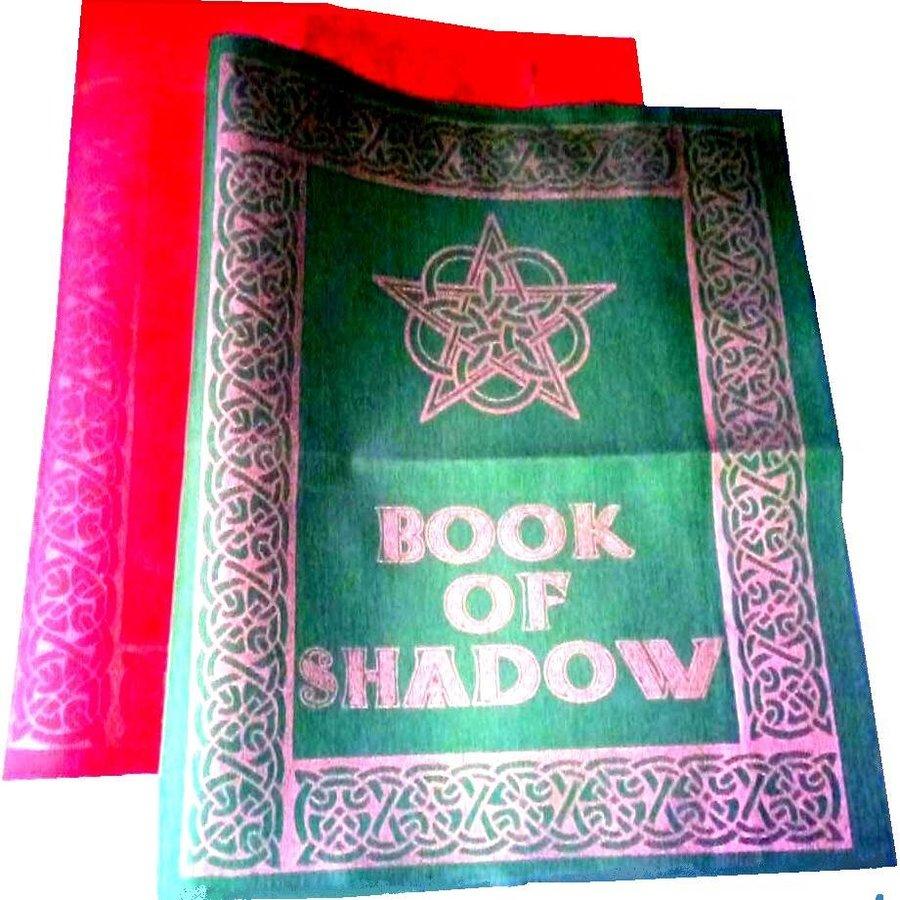 Buch der Schatten - Ordnereinband mit Rosen- Pentagramm-2