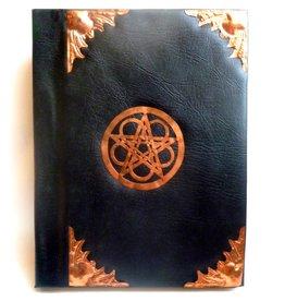 Fledermaus Schattenbuch mit Kupfer- beschlägen