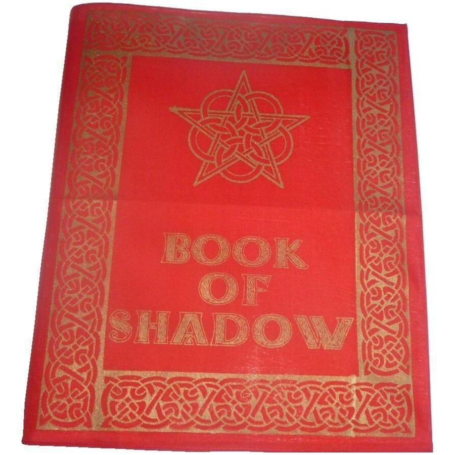 Buch der Schatten - Ordnereinband mit Rosen- Pentagramm-3