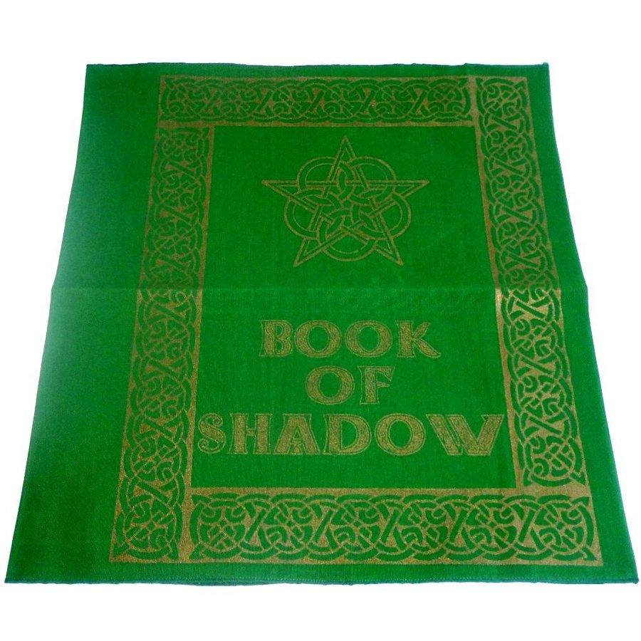 Buch der Schatten - Ordnereinband mit Rosen- Pentagramm-1