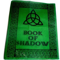 thumb-Buch der Schatten - Ordnereinband mit Triquetta-3