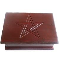 thumb-Tarot Kästchen mit Pentagramm-1