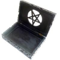 thumb-Speckstein Dose mit Pentagramm-4