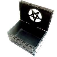 thumb-Speckstein Dose mit Pentagramm-2