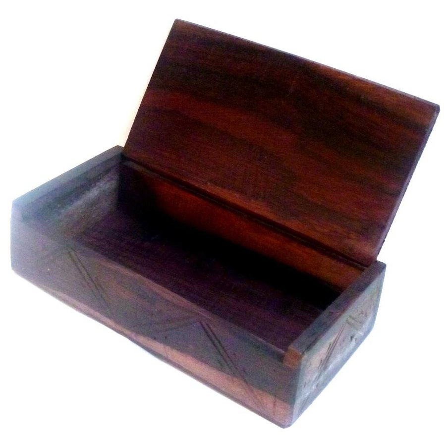 Holzkästchen Pentagramm-3