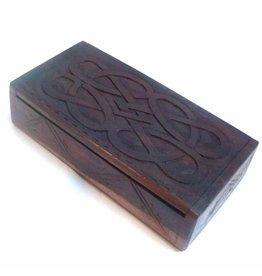 Aufbewahrung Holzkästchen Celtic ab