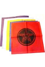 Pentagramme Altartuch mit Pentagramm in verschiedenen Farben