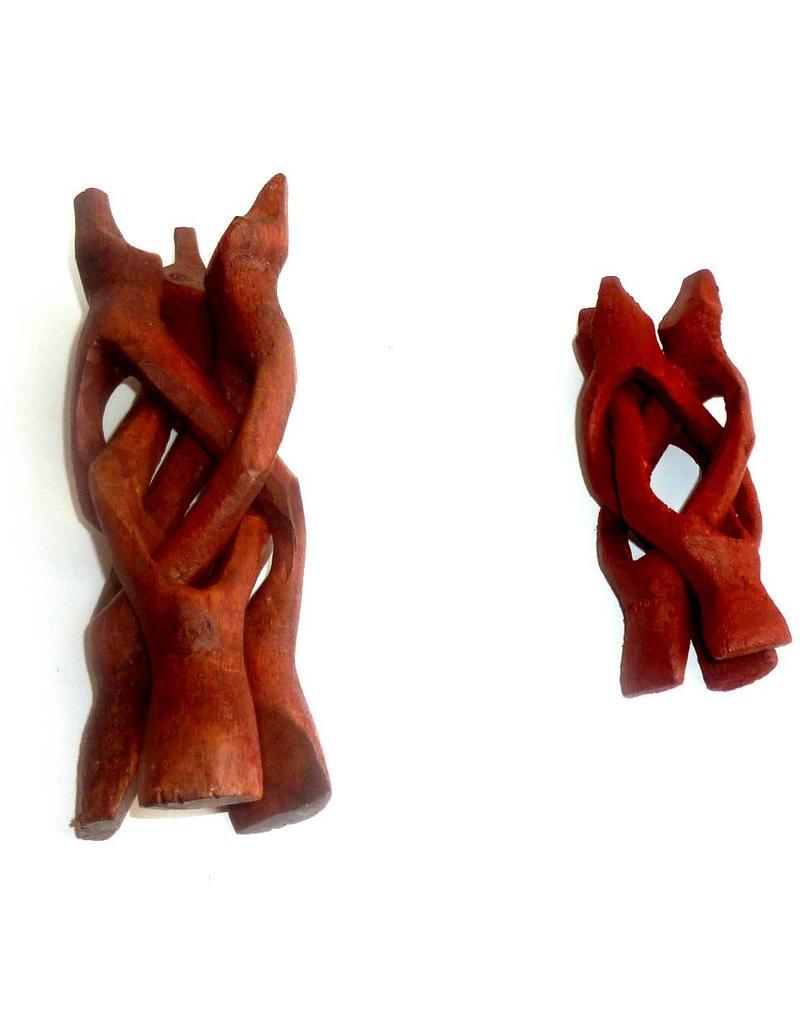 Glaskugelhalter Dreifuß Kobra (Ohne Kugel)