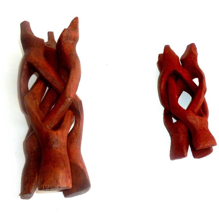 Glaskugelhalter Dreifuß Kobra (Ohne Kugel)-2