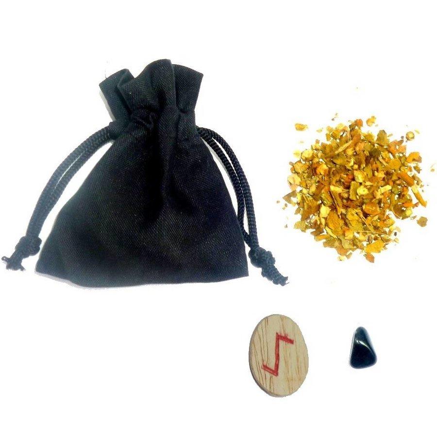 Mojo-Bag (Mojo-Bag) mit Anleitung, Bann-1