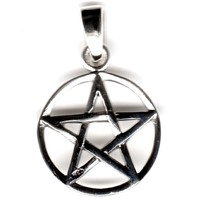 thumb-Pentagramm Anhänger, Sterling Silber, ca. 15 mm-1