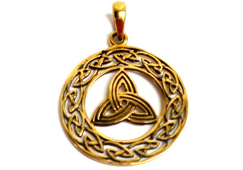 Triquetra Anhänger, Bronze