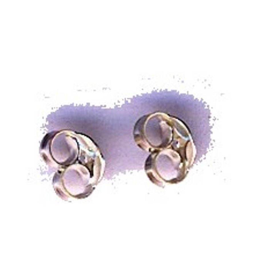Ohrsteckermuttern, silber-1