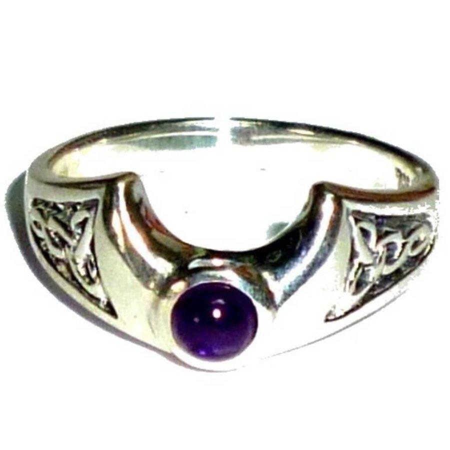 Ring Halbmond aus 925-Silber-3