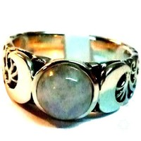 thumb-Dreifacher Mond Ring.-3