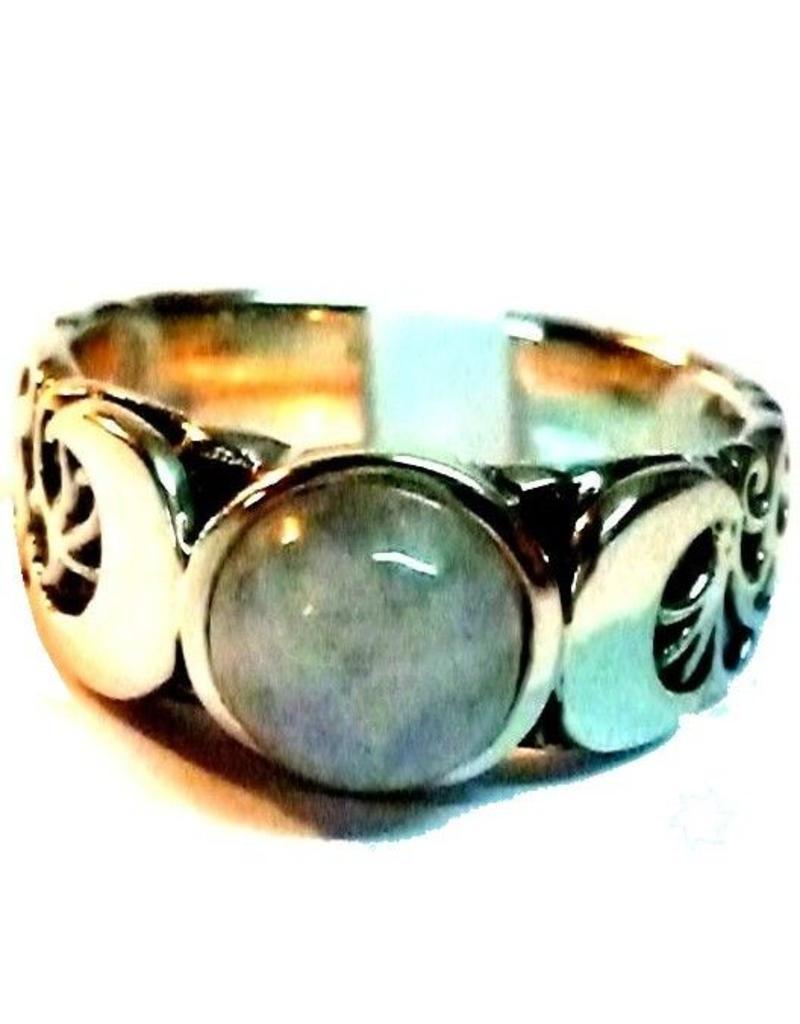Mond Dreifacher Mond Ring.
