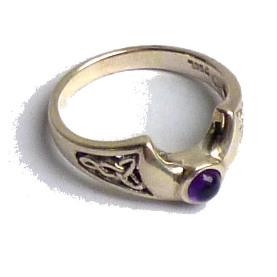Ring Halbmond aus 925-Silber-2