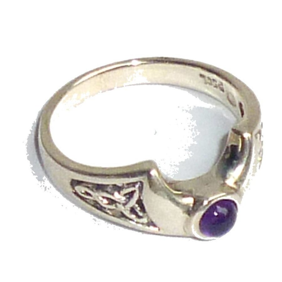 Ring Halbmond aus 925-Silber-1