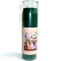 thumb-Beltane Jahreskreis Kerze im Glas-2