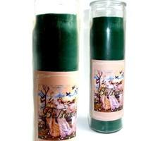 thumb-Beltane Jahreskreis Kerze im Glas-1