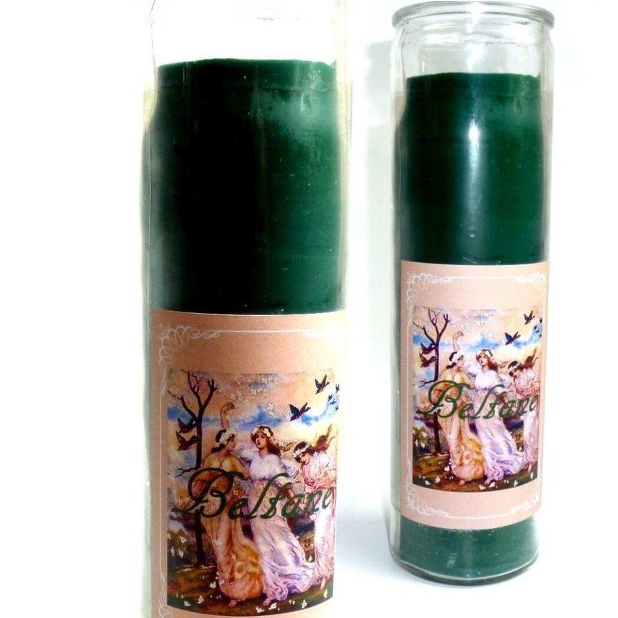 Beltane Jahreskreis Kerze im Glas-1
