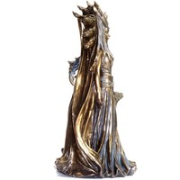 thumb-Hexengöttin aus Polyresin, bronziert-5