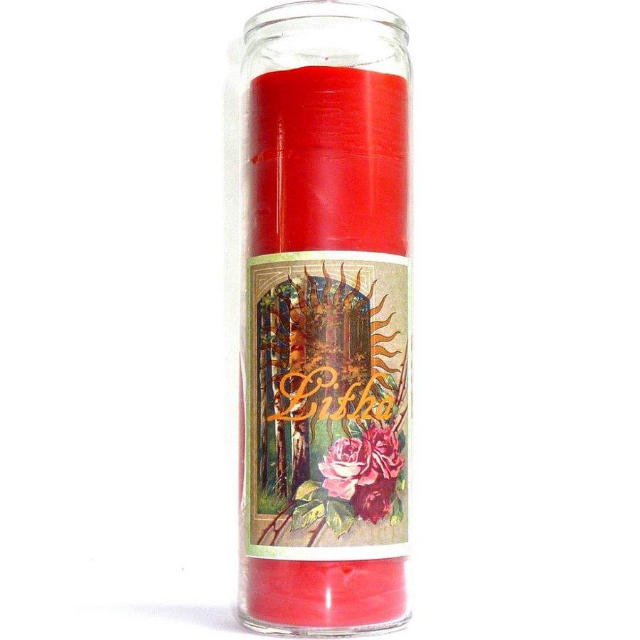 Litha Jahreskreis Kerze im Glas-1