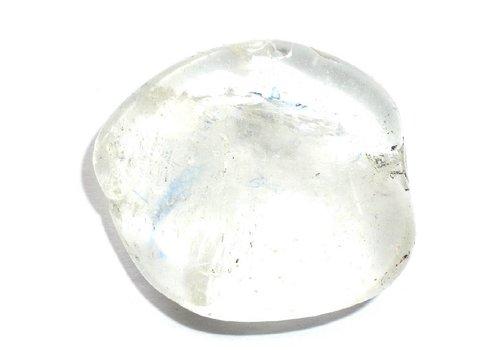 Bergkristall Trommelstein ab