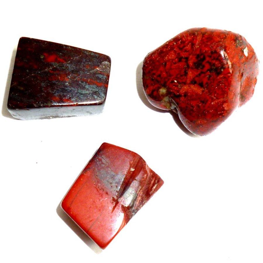 Edelstein Jaspis rot-3
